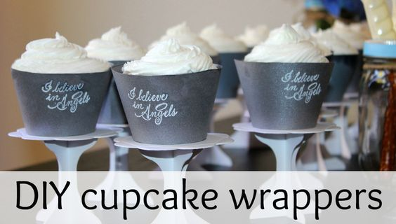 How cute are these cupcake wrappers!?