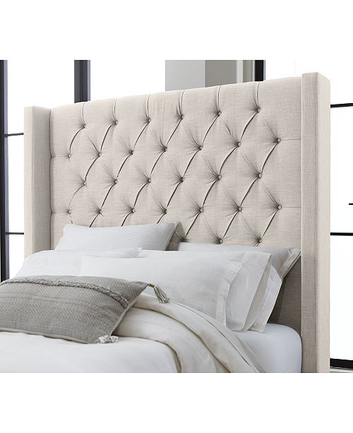 Furniture Monroe Upholstered Full Bed Created For Macy S