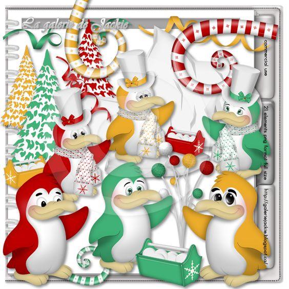 GJ-CU Penguin Dance 1 FS : Scrap and Tubes Store, Digital Scrapbooking Supplies