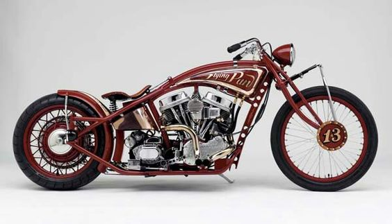 """""""Flying Pan"""", Hank Young. http://www.youngchoppers.com/"""