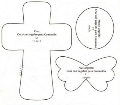 Recuerdos para bautizo con cruces ~ lodijoella