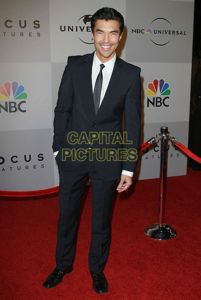 IAN ANTHONY DALE.NBC Universal 68th Annual Golden Globe Awards After Party held at the Beverly Hilton, Beverly Hills, California, USA..January 16th, 2010.full length black suit hand in pocket .CAP/ADM/KB.©Kevan Brooks/AdMedia/Capital Pictures.