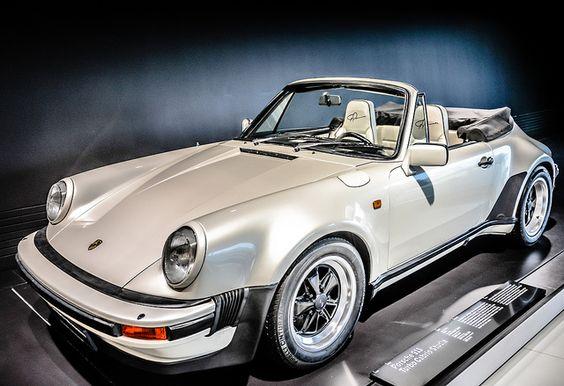 1981 Porsche 911 Turbo Cabrio At Porsche Museum Stuttgart Germany