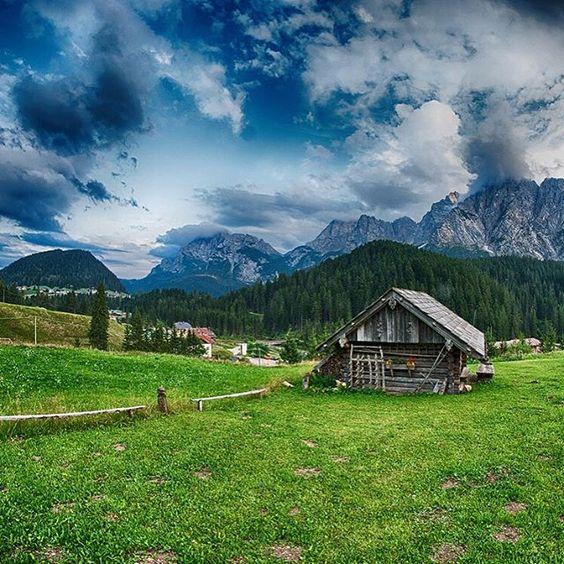 #Alpine landscape of #Dolomites #Mountains  #Landscapes #Nature - Dollar Stock Images -  http://kozzi.tv/UIMr5