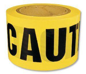 Intertape Polymer Group 600CC 300 Barricade Ribbon, Caution - Idc Electrical Terminals - Amazon.com