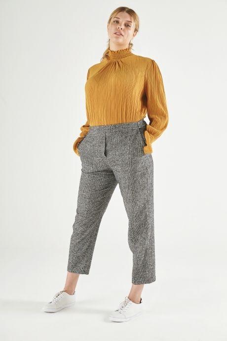 Grey Tweed Trousers from ELVI