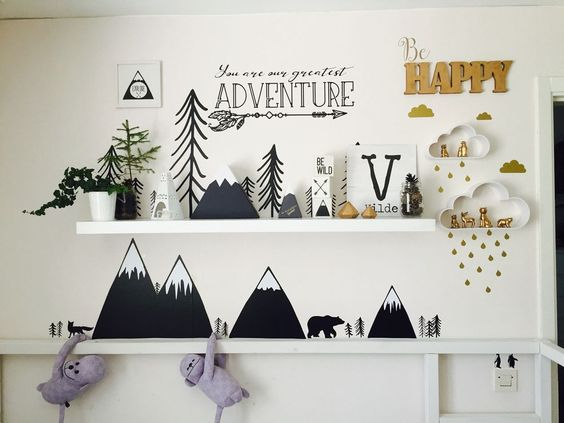 Barnrum barnrum diy : ALKEMISTEN DIY - barnrum childrens room kids room mountain berg ...
