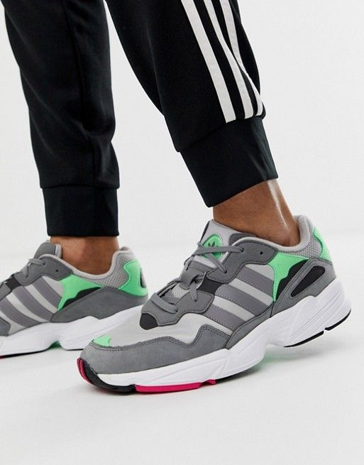 adidas Originals Yung 96 sneakers in gray in 2019 | Adidas