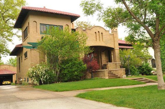 1912 Mediterranean Revival - Historic Mediterranean Revival Home in Pueblo, Colorado - OldHouses.com