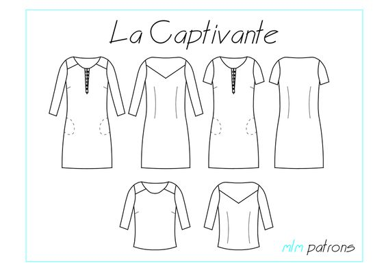 Blouse LA CAPTIVANTE, MLM Patrons //  Réalisée avec le chambray à pois Denim, Amandine Cha--Les Trouvailles d'Amandine, 100% coton biologique GOTS, dessiné, tissé et teint en France.