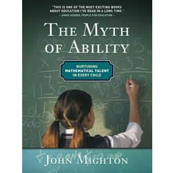 "Canadian Mathematician John Mighton started JUMP (Junior Undiscovered Math Prodigies), a not-for-profit organization providing free math tutoring for elementary-level students from low income homes.  ""The Myth of Ability"" tells JUMP's fascinating story and explains its teaching method.    #BackToSchool  http://www.mastermindtoys.com/The-Myth-of-Ability-Book.aspx"