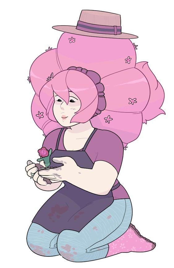 Rose Quartz Steven Universe Hair Template: Steven Universe, Rose Quartz And Fandoms On Pinterest