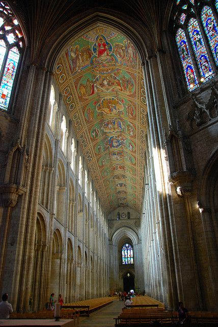 Raising the Roof at Ely Cathedral, England, by antonychammond.