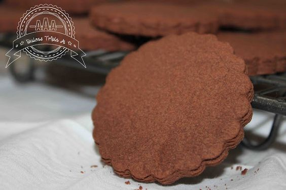 Galletas de Chocolate Sin Gluten | DULCES TRIPLE A