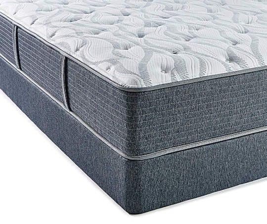 Serta Plush Luxury King Mattress Box Spring Set Icollection