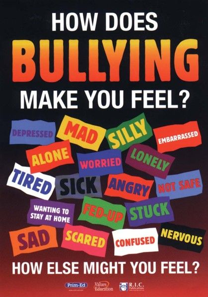 Pictures About Bullying School | Anti Bullying Posters For Schools: