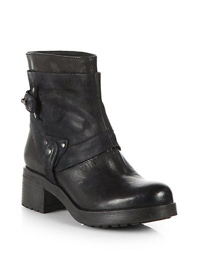 Vera Wang Lavender Label - Esther Leather & Suede Ankle Boots - Saks.com