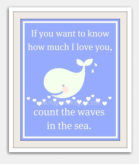 Children's wall art baby nursery decor beach by MagicMarkingsArt, $16.00 Love the phrase!