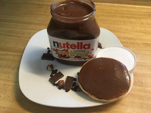 نوتيلا بالبندق سهل التحضير احسن بكثير من الجاهز مذاق رائع بدون مواد حافظة Youtube Nutella Food Desserts