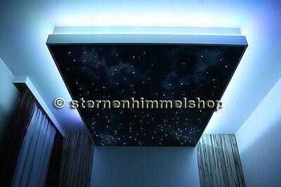 Rgb Led Sternenhimmel 330 Lichtfaser 0 75 1 1 5 Glasfaser Optik Lichttherapie Eur 128 50 Picclick De Rgb Led Sternenhimmel Sternen Himmel