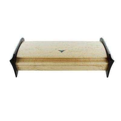 Birdseye Maple Wenge Abalone Inlay Jewelry Box