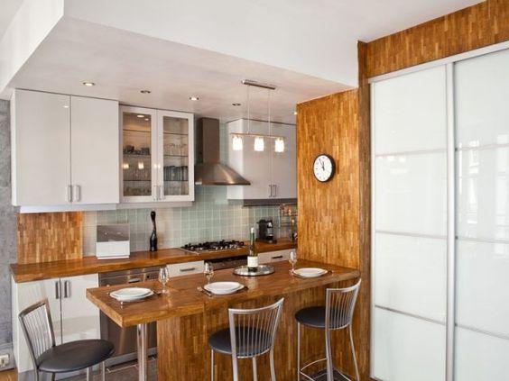 La Metamorphose D Un Couloir De 7m2 En Cuisine Cuisine Moderne