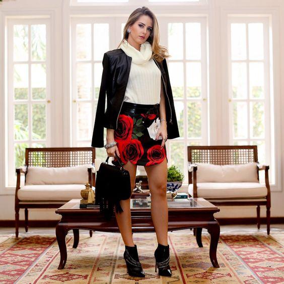 Saia rosas | Analoren