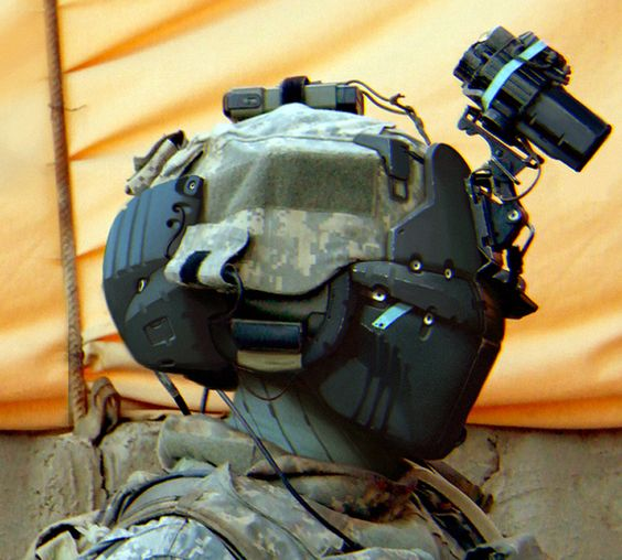 bassman5911: Modern / Sci-fi soldier concept by Moh Mukhtar
