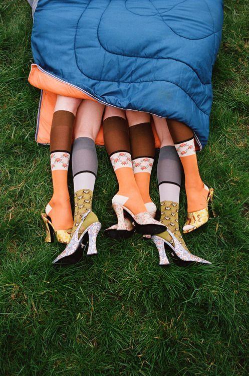all the feet