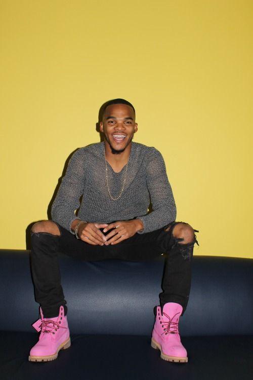Beautiful Black Men u2014 theofficialbadboyzclub Pink timbs | sexy | Pinterest | Pink Beautiful ...