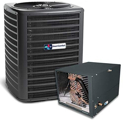 Direct Comfort 14 5 Seer 2 0 Ton 23k Btu Partial Split Air Conditioning System Dc Gsx14024 In 2020 Air Conditioning System Air Conditioner Btu Air Conditioning Repair