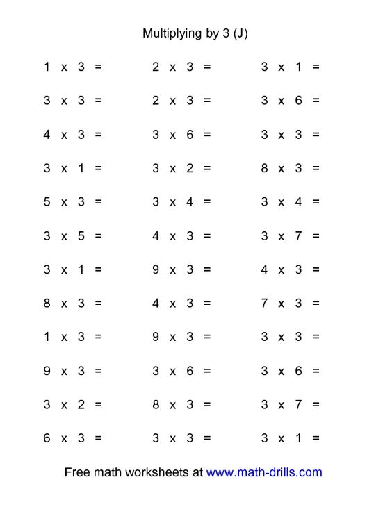math worksheet : multiplication facts worksheets 5s  times table math 5  : 5s Multiplication Worksheet