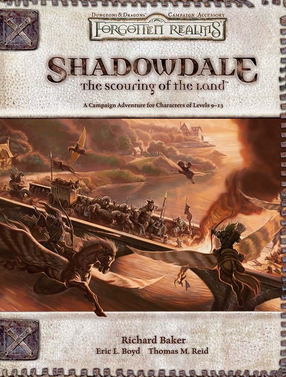 Create Your Own Book Cover Art : Shadowdale the scouring of land forgotten