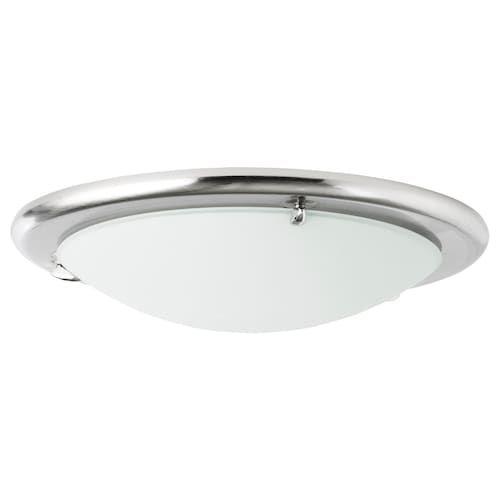 Nymane Led Ceiling Lamp White Ikea In 2020 Ceiling Lamp White Pendant Lamp Ceiling Lamp Design