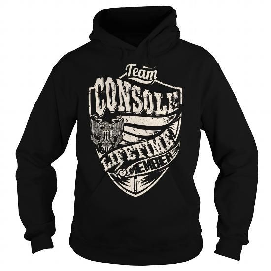 Team CONSOLE Lifetime Member Eagle T Shirts, Hoodies. Check price ==► https://www.sunfrog.com/Names/Last-Name-Surname-Tshirts--Team-CONSOLE-Lifetime-Member-Eagle-Black-Hoodie.html?41382