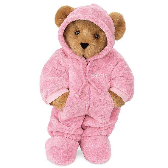 """15"""" Pink Hoodie-Footie™ Outfit"""