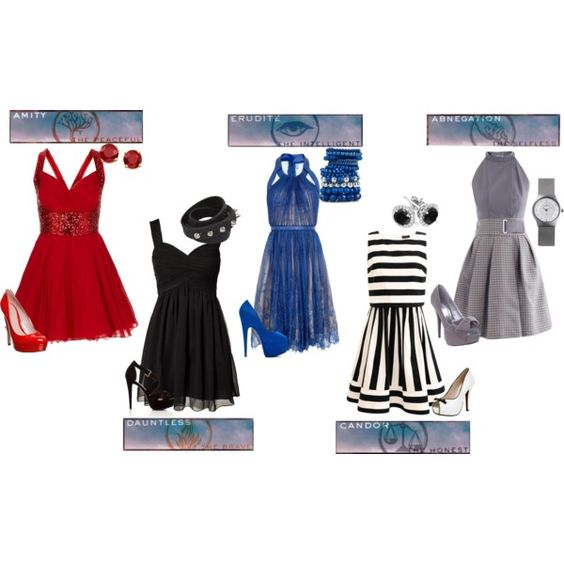 5 photo of 125 for divergent outfits polyvore