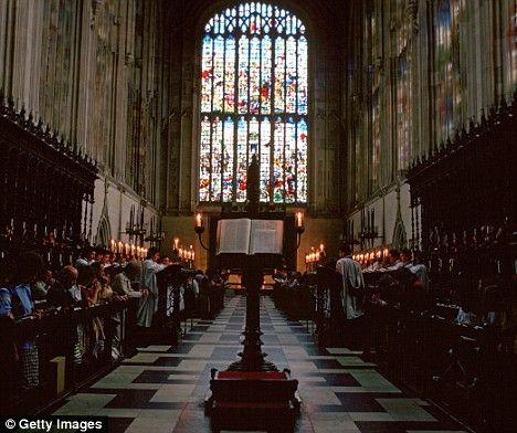 Kings College Chapel, Cambridge, England.