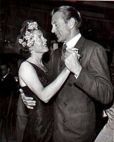 Gary Cooper and his wife, Veronica.