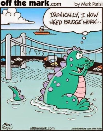 Image result for tooth bridge funny