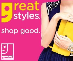Don't want to dress like everyone else? You'll surprise yourself with the unique and affordable #styles you'll find! #shopgood #shopgoodwill #goodwillfashion