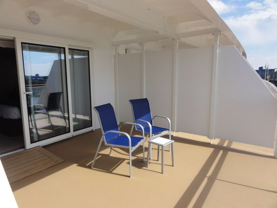 Breaking new ground with the breakaway pictorial review for Cruise balcony vs suite