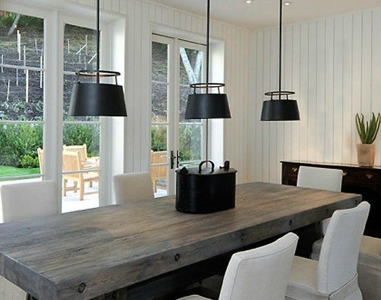 Rustic modern dining room chairs