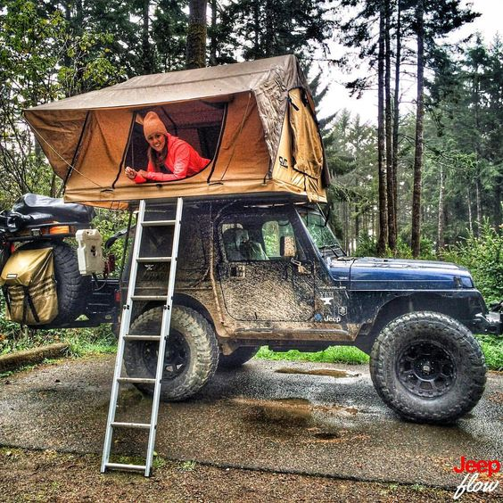 Sexy Jeep Girls, jeepflow:   Gotta love this setup. Shout out to...