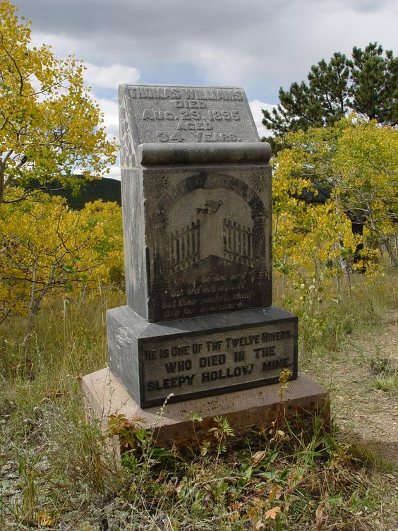 Sleepy Hollow Mine.. Central City Colorado.. by Ericka VanHorn