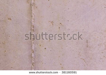 Drainage concrete pipe surface with honey comb - stock photo