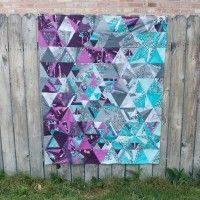 Indelible Tesselation Quilt by Sew Sweetness | Katarina Roccella for Art Gallery Fabrics