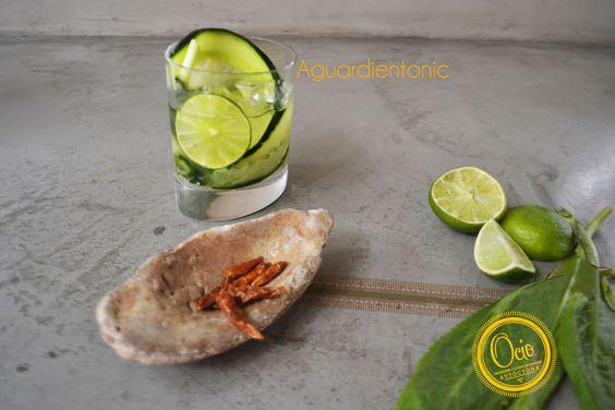 Coctel Aguardientonic de Ocio Restaurante Bogotá
