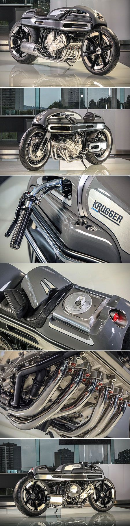 If Robocop Owned a BMW Motorcycle, It Would Be Krugger's Futuristic K1600