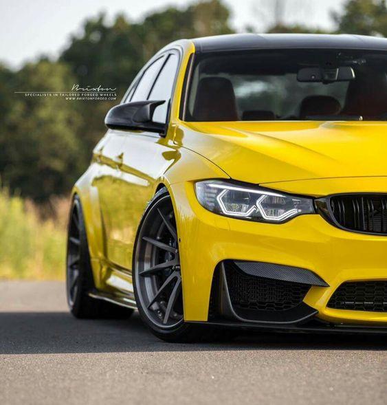 BMW F80 M3 yellow More
